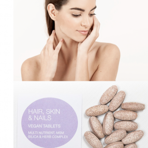 100 Hair, Skin & Nails Supplement tablets in an Eco Pack for