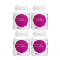 ** STAR BUY **  Vitamin D3 180 - 5,000iμ - 4 Pack