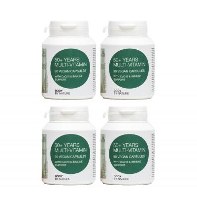 Multi-Vitamin (50+) Vegan (4 Pack)