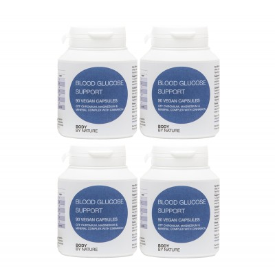 Blood Glucose Support (Vegan) (4 Pack)