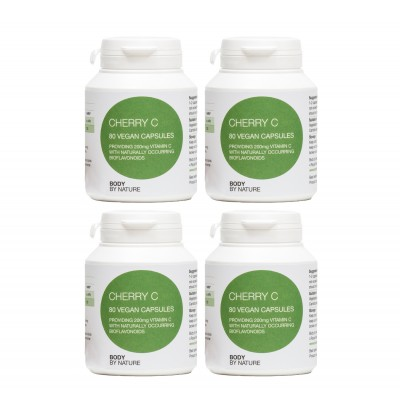 Cherry Vitamin C (Vegan) (4 Pack)