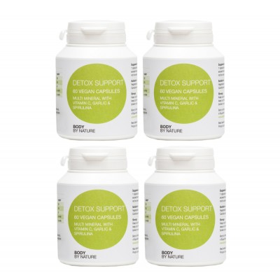 Detox Support (Vegan) (4 Pack)