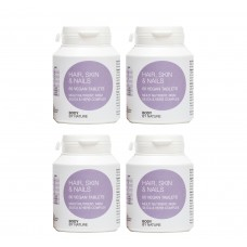 Hair, Skin & Nails (Vegan) (4 Pack)