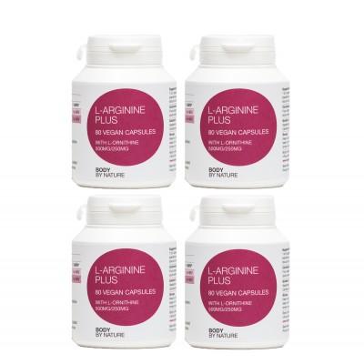L-Arginine Plus (Vegan) (4 Pack)