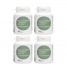 Multi-Vitamin for Adults (Vegan) (4 Pack)