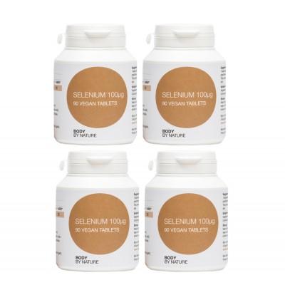 Selenium (Vegan) (4 Pack)