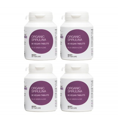 Spirulina (Vegan) (4 Pack)