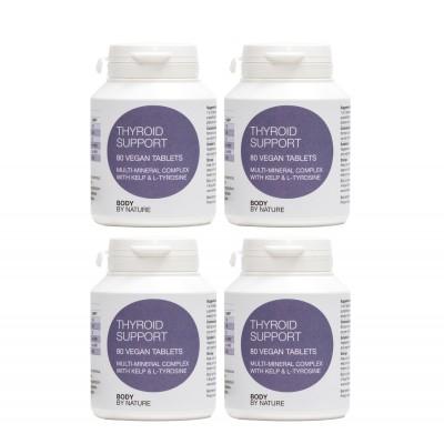 Thyroid Support (Vegan) (4 Pack)