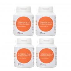 Turmeric Plus (Vegan) (4 Pack)