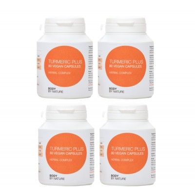 Turmeric Plus (Vegan) (4 Pack)