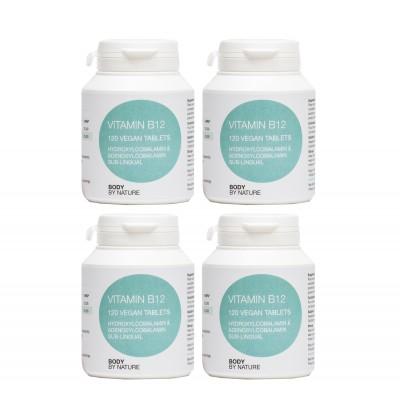 Vitamin B12 (Vegan) (4 Pack)
