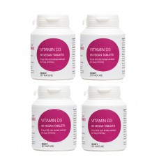 ** STAR BUY ** Vitamin D3 (4 Pack) - 250μg (10,000iμ)