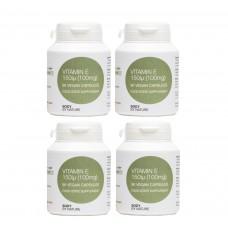 Vitamin E 150 IU (Vegan) (4 Pack)