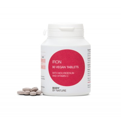 Iron 10mg with Vitamin C (Vegan)