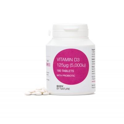 Vitamin D3 180 - 5,000iμ