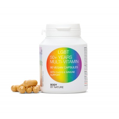 LGBT Multi-Vitamin (50+) Vegan (4 Pack)