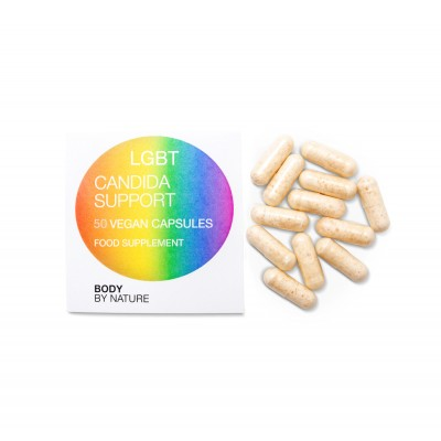 LGBT Candida Support (Vegan) - 50 Eco Pack
