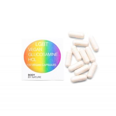 LGBT Vegan Glucosamine HCL - 100 Eco Pack
