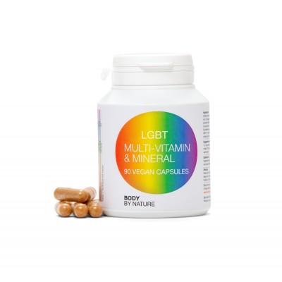 LGBT Multi Vitamin & Mineral (Vegan)