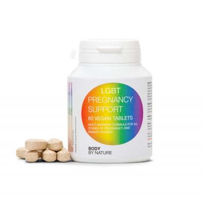 LGBT Pregnancy Support (Vegan) (4 Pack)