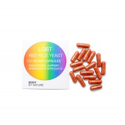 LGBT Red Rice Yeast plus CoQ10 - 100 Eco Pack