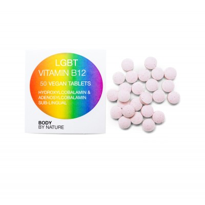 LGBT Vitamin B12 (50) (Vegan) - Eco Pack