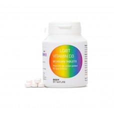 LGBT Vitamin D3 90 (Vegan) (4 Pack) - (2500i.u.)