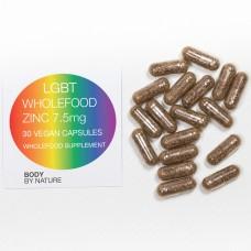 LGBT Zinc 7.5mg (Vegan) - 30 Eco Pack