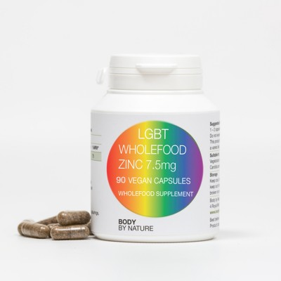 LGBT Zinc 7.5mg (Vegan) (4 Pack)