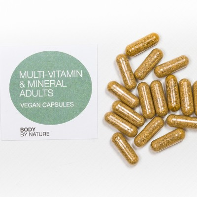Multi-Vitamin for Adults (Vegan) - 50 Eco Pack