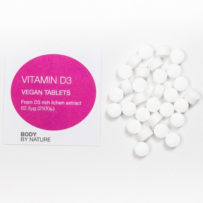 Vitamin D3 (Vegan) - (2500iu) - 100 Eco Pack
