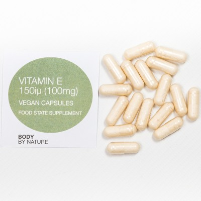 Vitamin E 150 IU (Vegan) - 30 Eco Pack