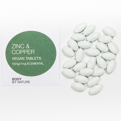 Zinc and Copper (Vegan) - 100 Eco Pack
