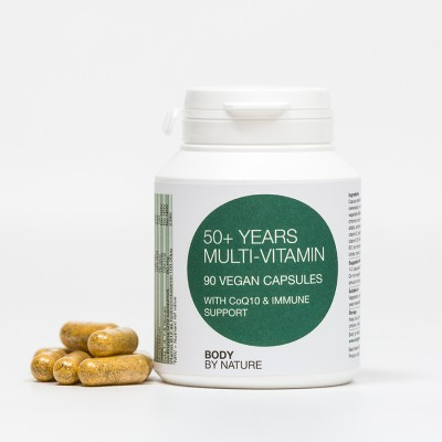Multi-Vitamin (50+) Vegan (4 Pack)