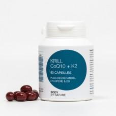 Krill 80 CoQ10 + K2 Resveratrol, Lycopene & D3