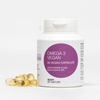 Plant Marine Algae Omega 3 Vegan, DHA/EPA