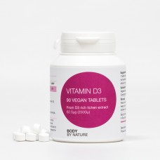 Vitamin D3 90 (Vegan) - (2500i.u.)