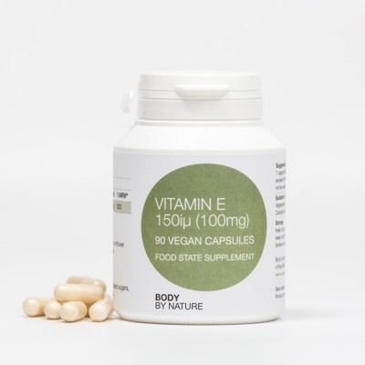 Vitamin E 150 IU (Vegan) (4 Pack)