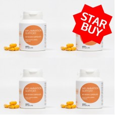 ** STAR BUY ** Inflammation Support (Vegan) (4 Pack)
