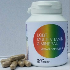 LGBT Multi Vitamin & Mineral (Vegan) - (4 pack)