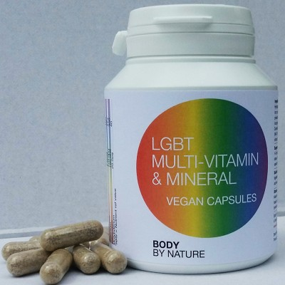LGBT Multi Vitamin & Mineral (Vegan) - (4 pack)