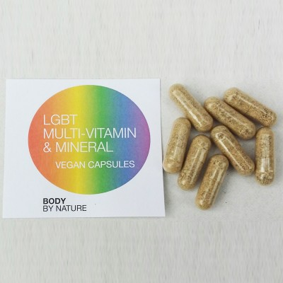 LGBT Multi Vitamin & Mineral (Vegan) - 30 Eco Pack