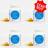 ** STAR BUY ** Pure Fish Oil (4 Pack)