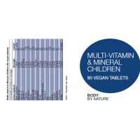 Multi-Vitamin & Mineral for Children (Vegan)