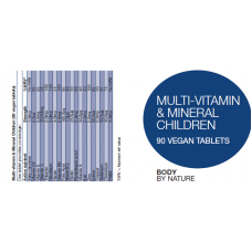 Multi-Vitamin & Mineral for Children (Vegan) (4 Pack)