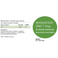 Zinc 7.5mg (Vegan)