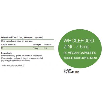 Zinc 7.5mg (Vegan)