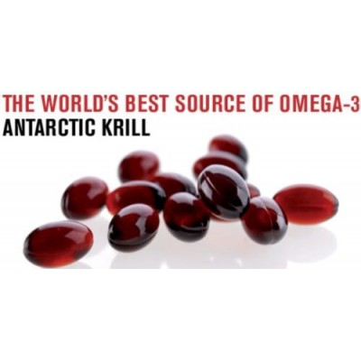 Pure Krill Oil - 100 Eco Pack - Astaxanthin, Phospholipids & Vitamin A