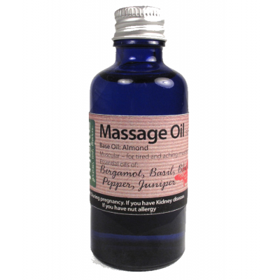 Bergamot Massage Oils