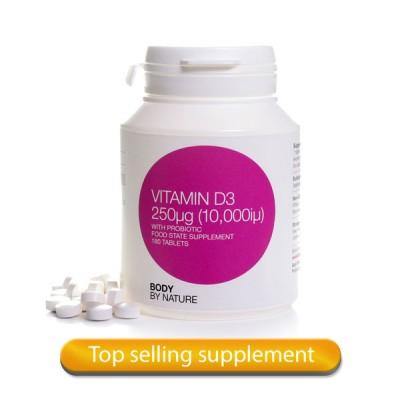 Vitamin D3 180 - (10,000iμ)